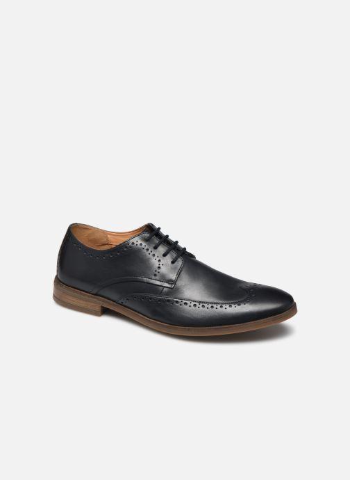 Chaussures à lacets Clarks Stanford Limit Bleu vue détail/paire