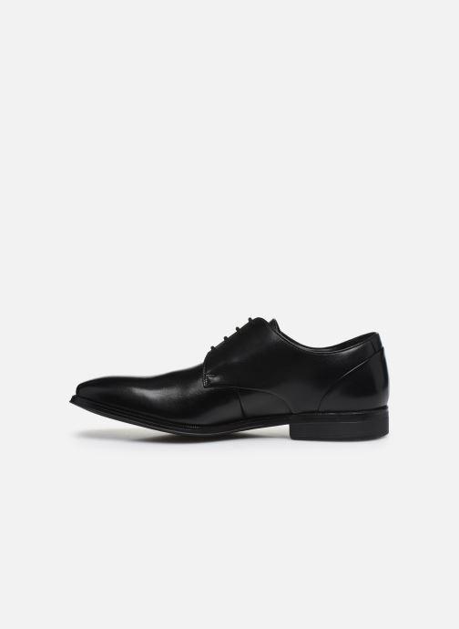 Zapatos con cordones Clarks Gilman Plain Negro vista de frente