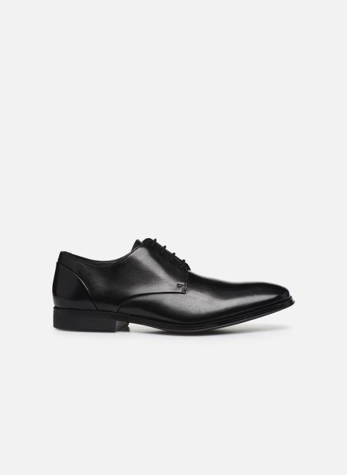 Zapatos con cordones Clarks Gilman Plain Negro vistra trasera