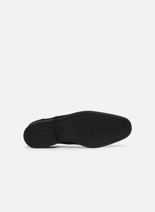 Zapatos con cordones Clarks Gilman Plain Negro vista de arriba