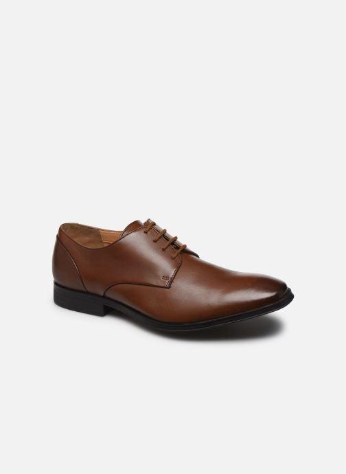 Chaussures à lacets Clarks Gilman Plain Marron vue détail/paire