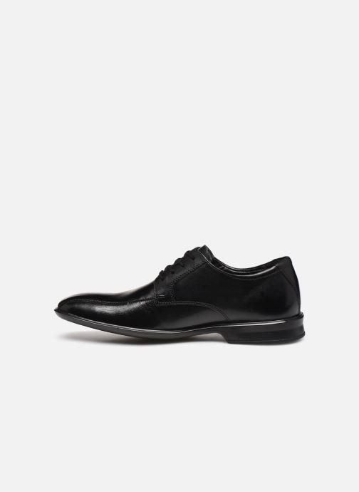 Zapatos con cordones Clarks Bensley Run Negro vista de frente