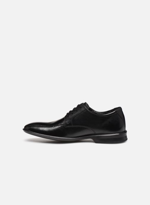 Zapatos con cordones Clarks Bensley Run Negro vista de frente
