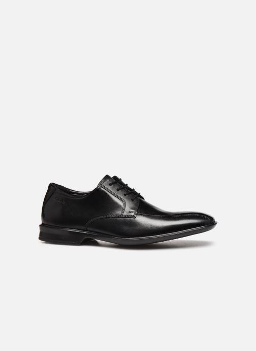 Zapatos con cordones Clarks Bensley Run Negro vistra trasera