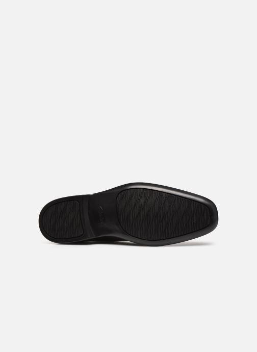 Zapatos con cordones Clarks Bensley Run Negro vista de arriba