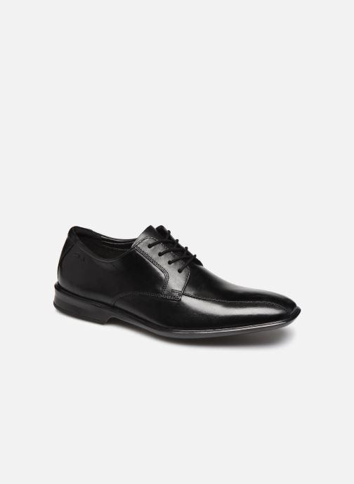Zapatos con cordones Clarks Bensley Run Negro vista de detalle / par