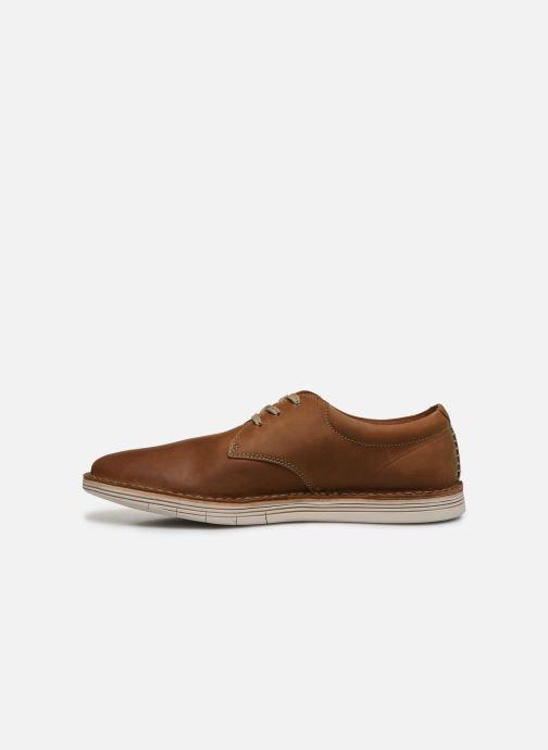 Chaussures à lacets Clarks Forge Vibe Marron vue face
