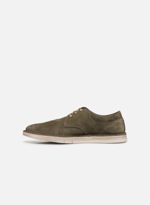 Zapatos con cordones Clarks Forge Vibe Verde vista de frente