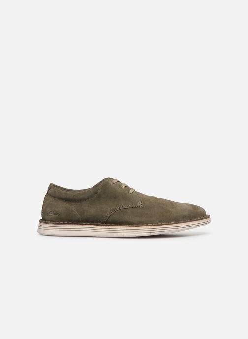 Zapatos con cordones Clarks Forge Vibe Verde vistra trasera