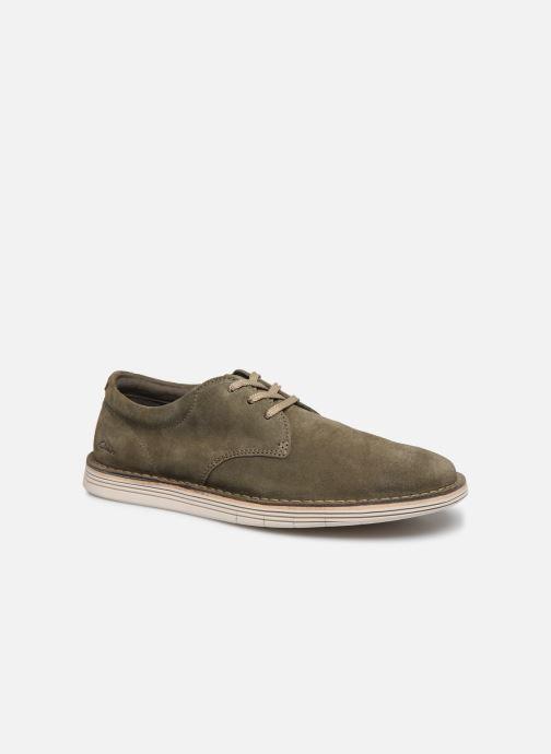 Chaussures à lacets Clarks Forge Vibe Vert vue détail/paire