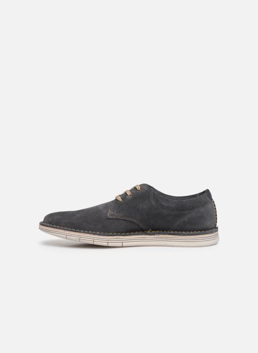 Chaussures à lacets Clarks Forge Vibe Gris vue face
