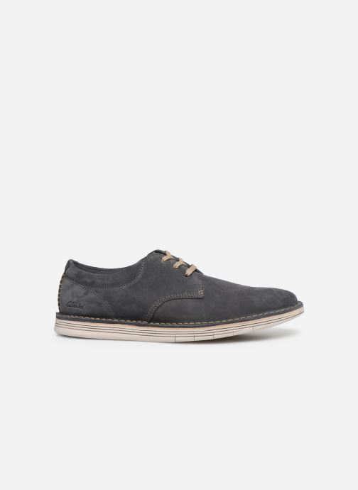 Lace-up shoes Clarks Forge Vibe Grey back view