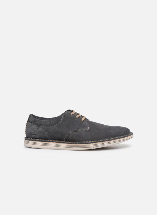 Chaussures à lacets Clarks Forge Vibe Gris vue derrière