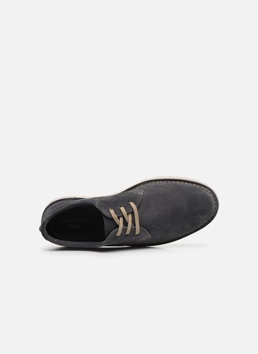 Lace-up shoes Clarks Forge Vibe Grey view from the left