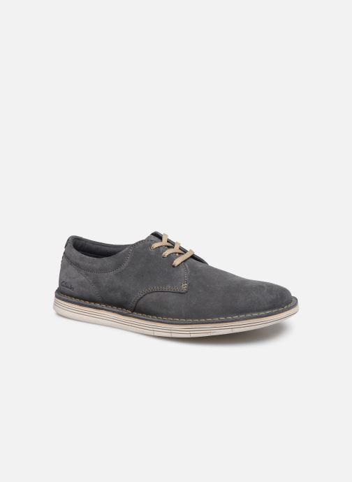 Chaussures à lacets Clarks Forge Vibe Gris vue détail/paire