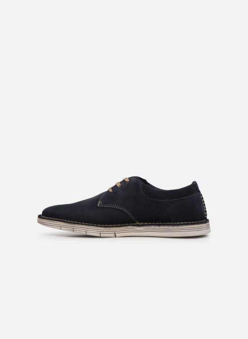 Zapatos con cordones Clarks Forge Vibe Azul vista de frente