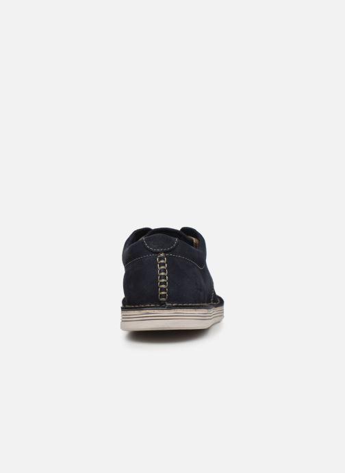 Zapatos con cordones Clarks Forge Vibe Azul vista lateral derecha