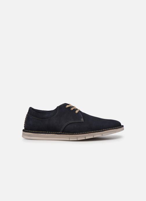 Zapatos con cordones Clarks Forge Vibe Azul vistra trasera