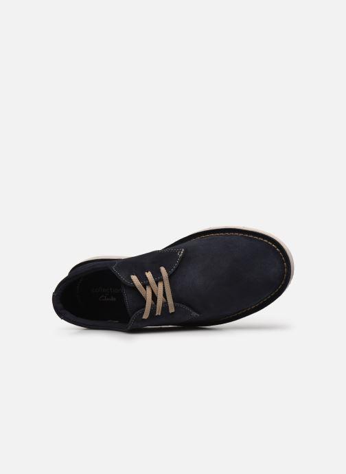 Zapatos con cordones Clarks Forge Vibe Azul vista lateral izquierda