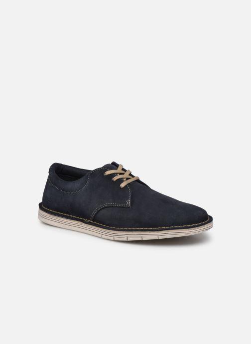 Zapatos con cordones Clarks Forge Vibe Azul vista de detalle / par