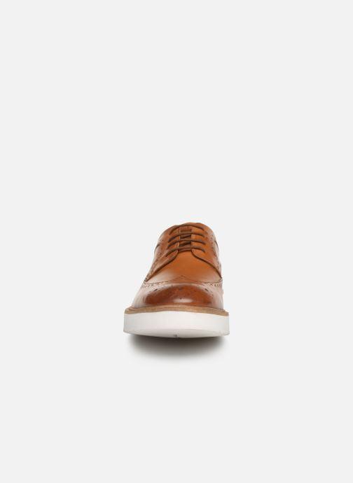 Chaussures à lacets Clarks Ernest Limit Marron vue portées chaussures