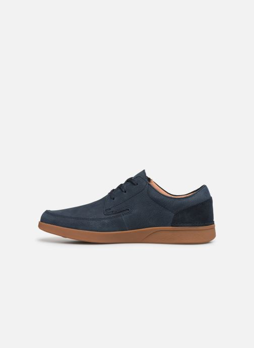 Sneakers Clarks Oakland Craft Blauw voorkant