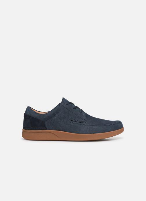 Sneakers Clarks Oakland Craft Blauw achterkant