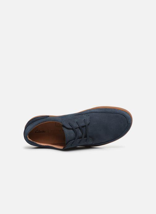 Sneakers Clarks Oakland Craft Blauw links