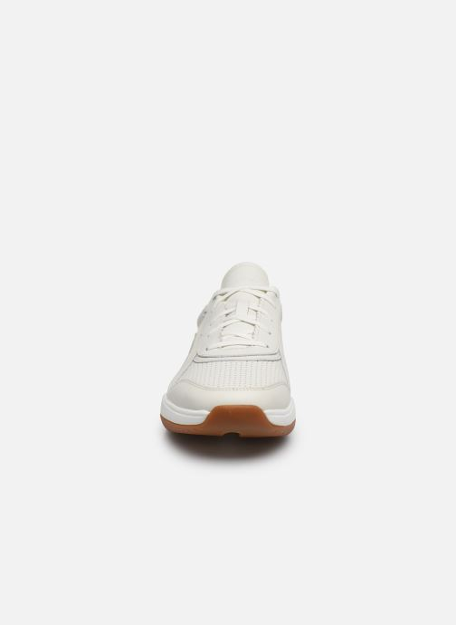 Baskets Clarks Sift Speed Blanc vue portées chaussures