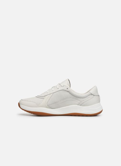 Baskets Clarks Sift Speed Blanc vue face
