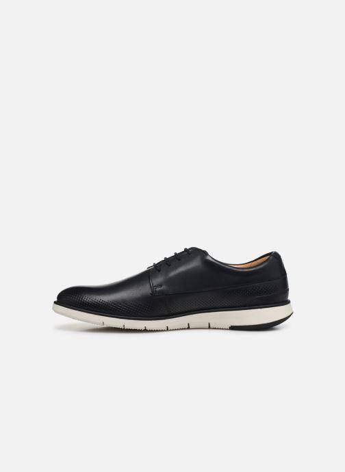 Zapatos con cordones Clarks Helston Walk Azul vista de frente