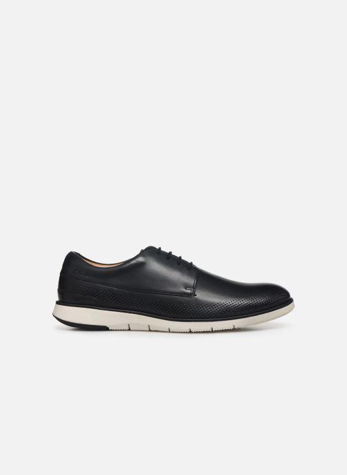 Zapatos con cordones Clarks Helston Walk Azul vistra trasera