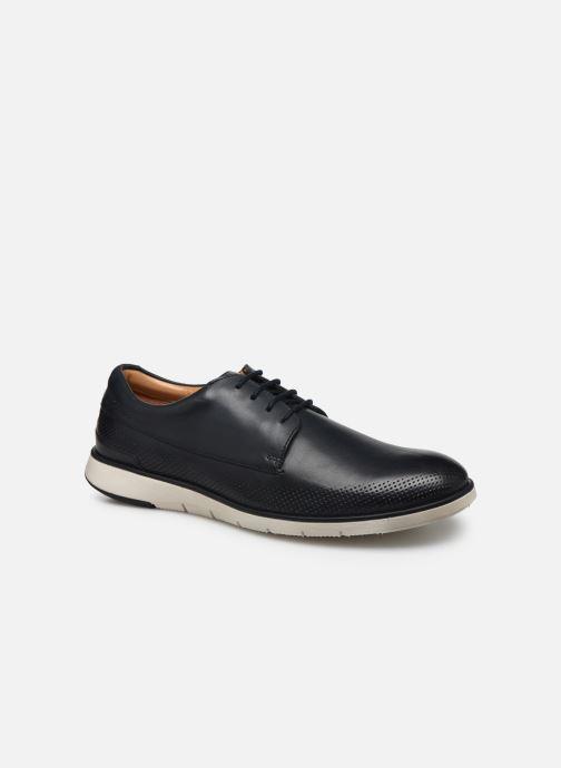 Zapatos con cordones Clarks Helston Walk Azul vista de detalle / par