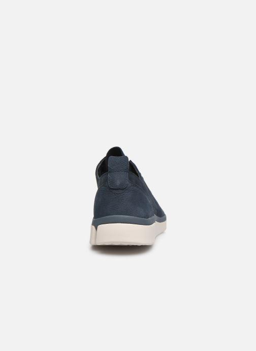 Sneaker Clarks Tri Verve Boss blau ansicht von rechts