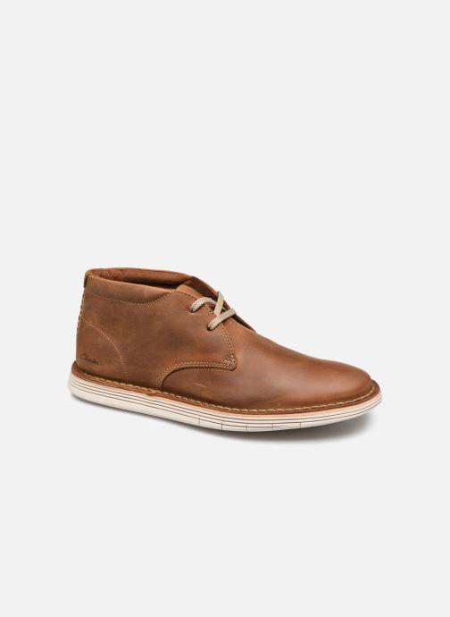 Bottines et boots Clarks Forge Stride Marron vue détail/paire