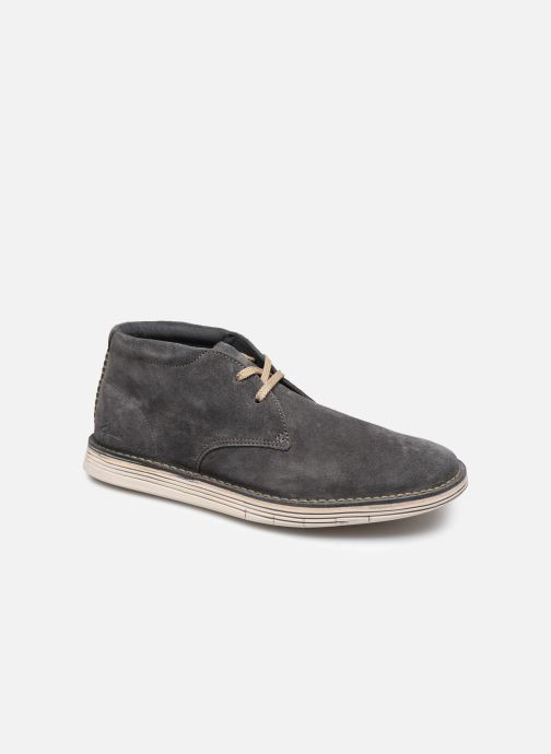 Bottines et boots Clarks Forge Stride Gris vue détail/paire