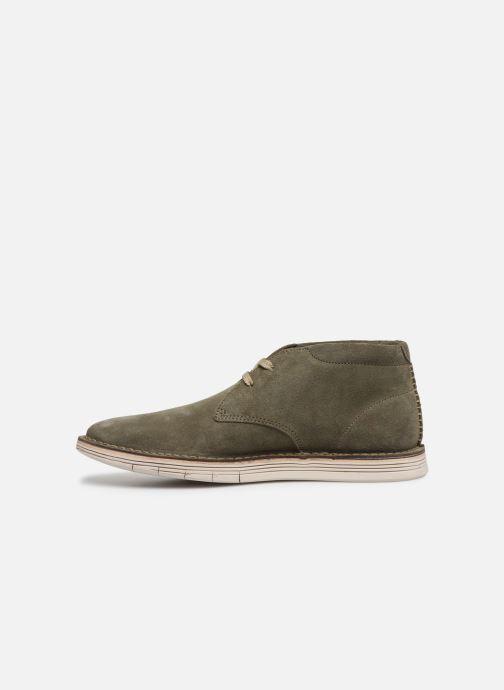 Bottines et boots Clarks Forge Stride Vert vue face