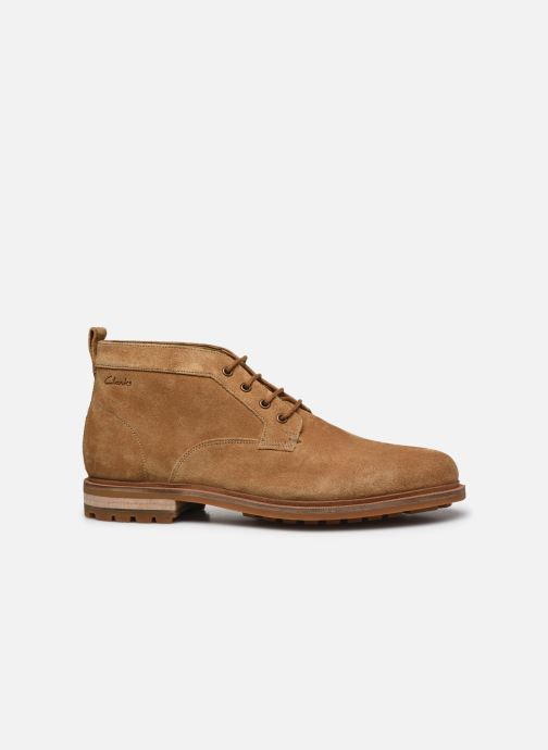 Bottines et boots Clarks Foxwell Mid Beige vue derrière