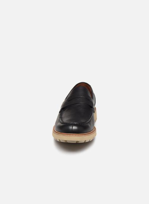 Mocassins Clarks Batcombe Edge Bleu vue portées chaussures