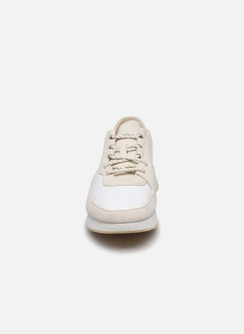Sneaker Clarks Originals Kiowa Pace. weiß schuhe getragen