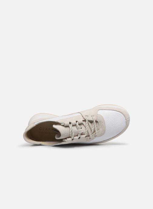 Sneaker Clarks Originals Kiowa Pace. weiß ansicht von links