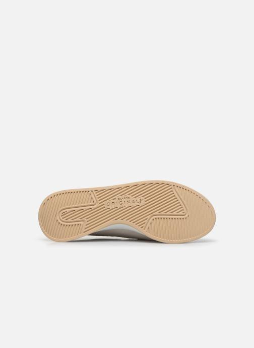 Sneaker Clarks Originals Kiowa Pace. weiß ansicht von oben