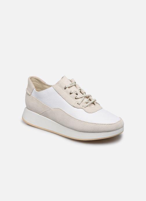 Sneaker Clarks Originals Kiowa Pace. weiß detaillierte ansicht/modell