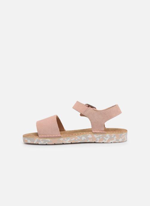 Sandales et nu-pieds Clarks Originals Lunan Strap. Rose vue face