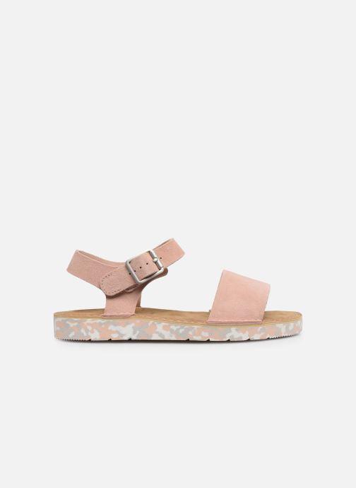 Sandals Clarks Originals Lunan Strap. Pink back view