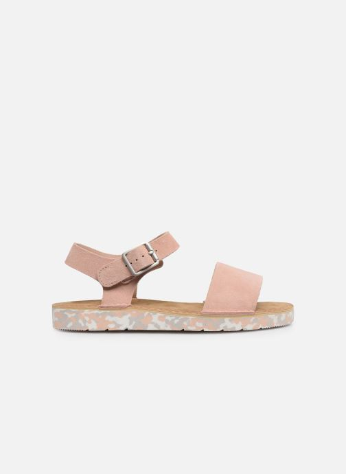 Sandalen Clarks Originals Lunan Strap. Roze achterkant