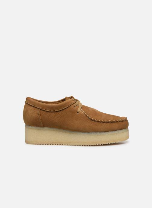 Zapatos con cordones Clarks Originals Wallacraft Lo Marrón vistra trasera