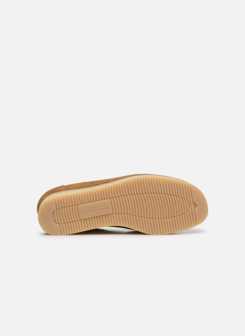 Chaussures à lacets Clarks Originals Wallacraft Lo Marron vue haut