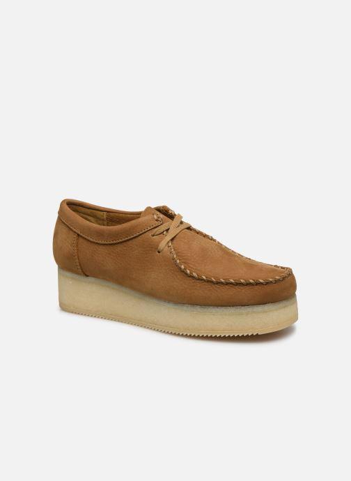 Zapatos con cordones Clarks Originals Wallacraft Lo Marrón vista de detalle / par