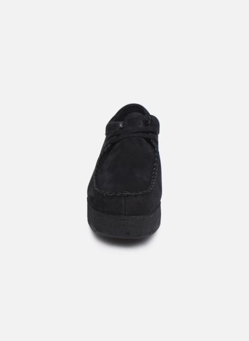 Zapatos con cordones Clarks Originals Wallacraft Lo Negro vista del modelo